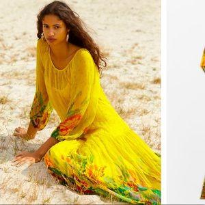 Anthropologie NWT Tarian Maxi Dress Size L.
